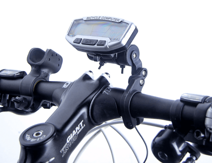 Bike Speedometer Cycle Computer Waterproof LED Screen Monitor