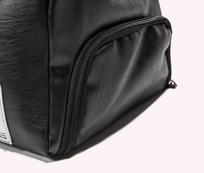 PU Leather Duffle Bag with Shoe Pouch
