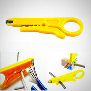 Wire Stripper Knife Crimping Pliers Cable Stripper (Set of 10)