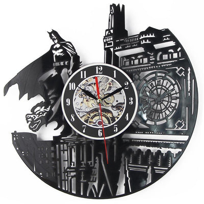 TLK BATMAN CD RECORD WALL CLOCK