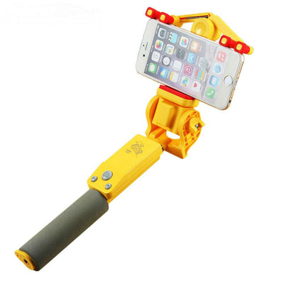 360 Degree Smart Rotation Extendable Selfie Stick, Remote Control