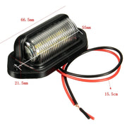 License Plate Light 12V LED Bulb