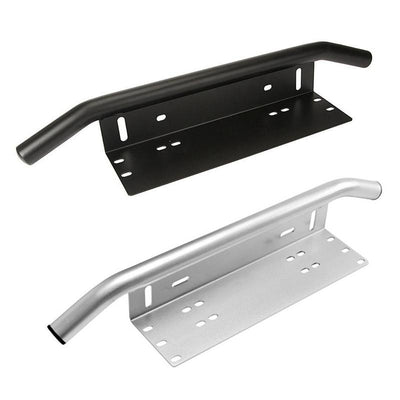 Front License Plate Bracket LED Light Bar Mount Holder
