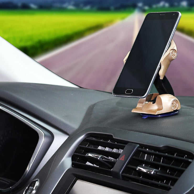 Multifunction 360 Degree Transforming Smartphone Car Mount