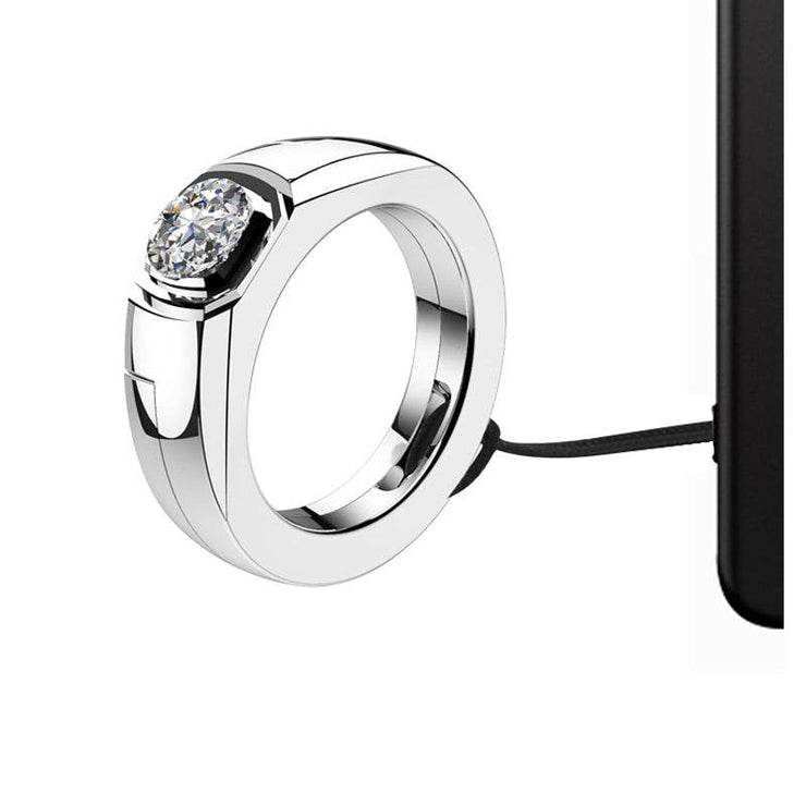 Diamond Ring Clip 85 Degree Stand Holder