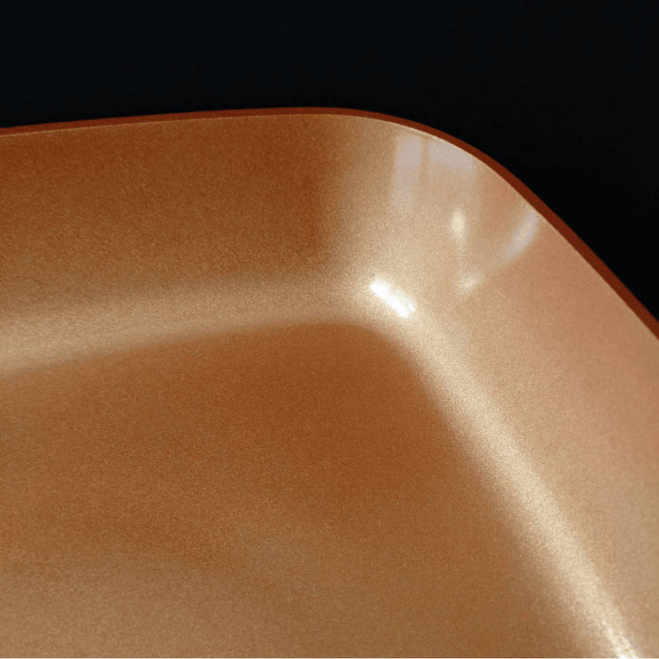 Non-Stick Ceramic Copper Square Cookware