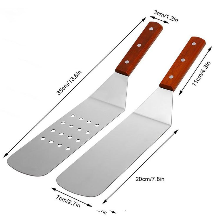 5 Pcs. BBQ Party Griddle Tools