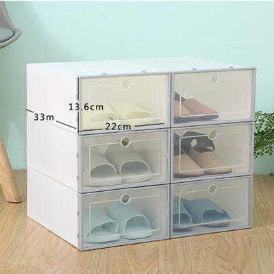 Shoebox Clear Shoe Organizer (Set of 6)