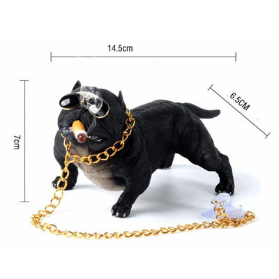American Bully Dog Dashboard Decor