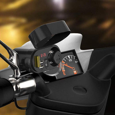 2019 Premium Multifunction Motorcycle Charger 12V