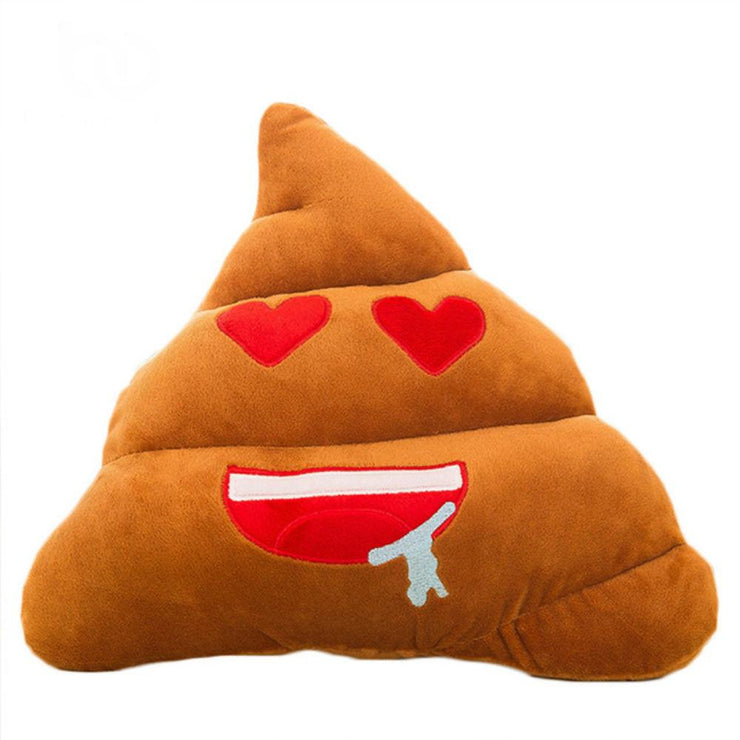 TLK ® POOP EMOJI PILLOW