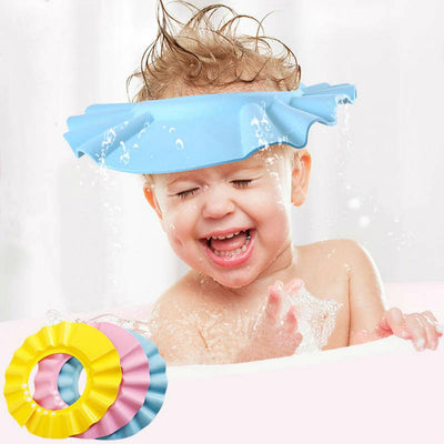 TLK ® ADJUSTABLE SOFT BABY SHOWER CAP