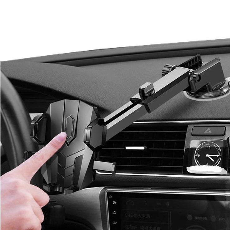Dashboard Phone Cradle Bracket with Suction Cup