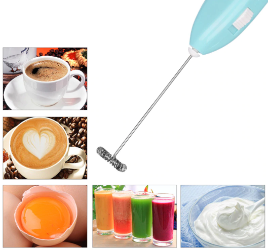 Electric Handheld Milk Frother (Set of 2)