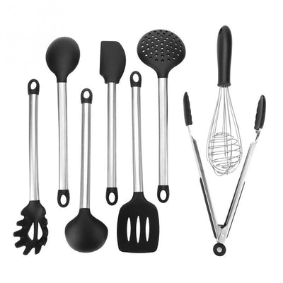 8 PCS. Food Grade Silicone Kitchen Utensils Set