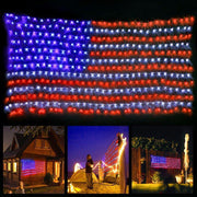 American Flag Lights