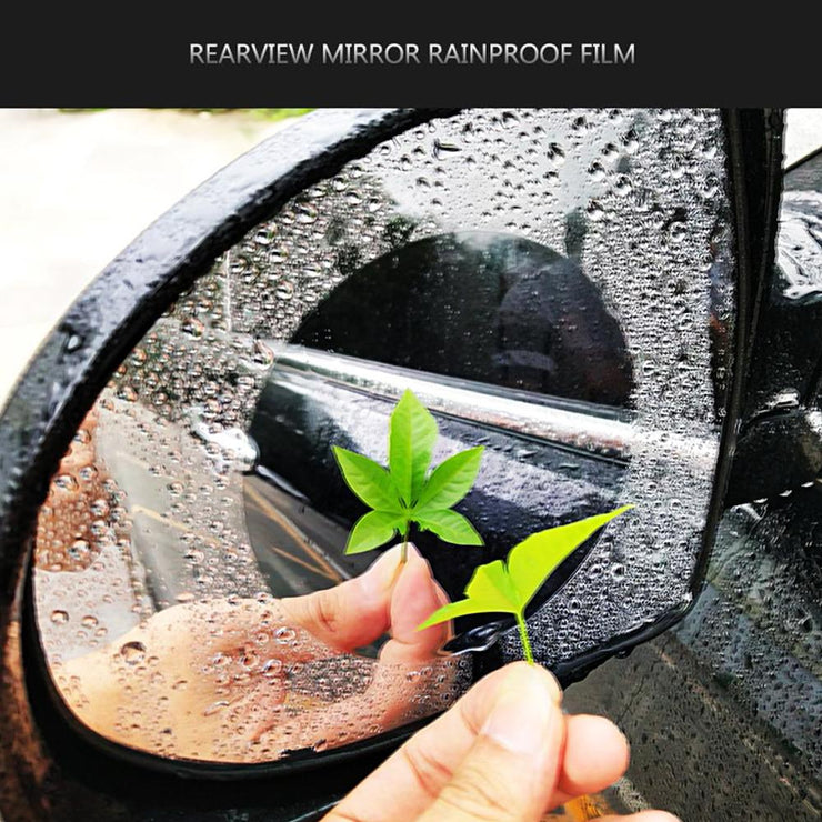 Waterproof Anti-Fog Side Mirror Film (2 Pcs)