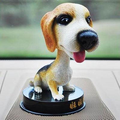 Adorable Dog Bobble Head Figure