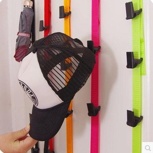 Adjustable Rack Bag And Cap Holder