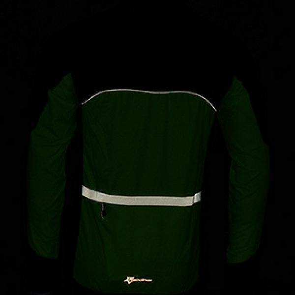 Cycling Waterproof & Windproof Reflective Breathable Jacket, Long Sleeve
