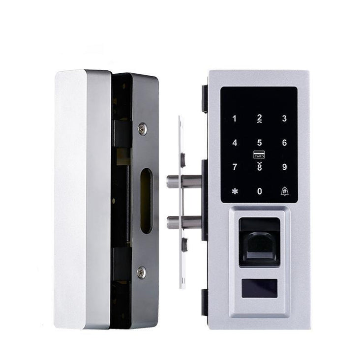 Electronic Door Lock Smart FingerPrint Glass Password Security Lock