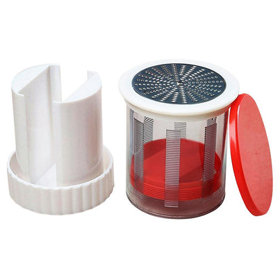 Stainless Steel Butter Grater and Butter Mill