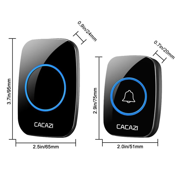 Smart Wireless Doorbell with LED Indicator