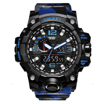 Sports Camo? Waterproof Men's Wrist Watch