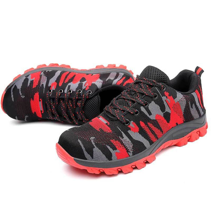 Breathable Steel Toe Work Shoes
