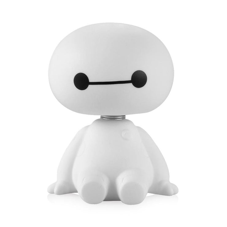 Cool Auto Baymax Robot Shaking Head Figure