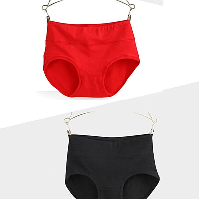 Comfortable High Waist Women's Underwear (Random Color)