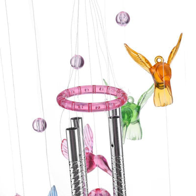 Relaxing Outdoor Crystal Wind Chimes