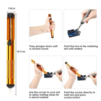 Easy Carry Electronic Soldering Iron Kit