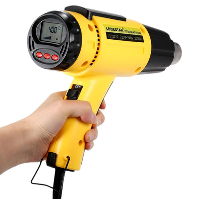 Digital Electric Thermoregulated Heat Gun