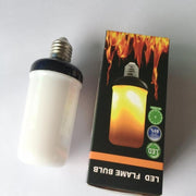 LED Flame Effect Light Bulb (Set of 2)