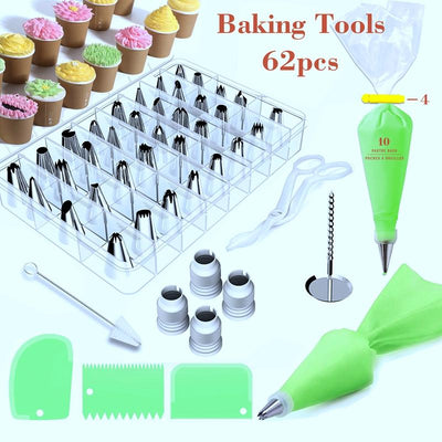 Russian Piping Cake Decorating Kit