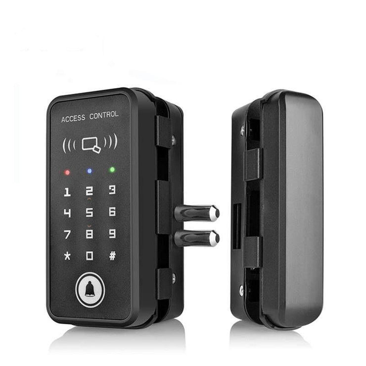 Glass Door Lock Keypad And Smart Card RFID Access Control