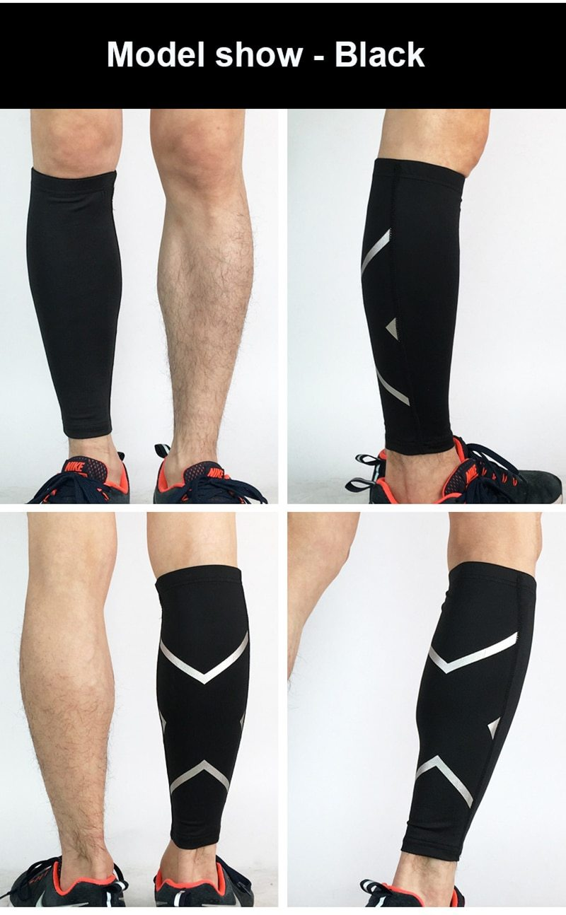 7a2b5bbaad Compression Sleeves Shin Splint Sleeve for Calf Compression (1 Pair ...