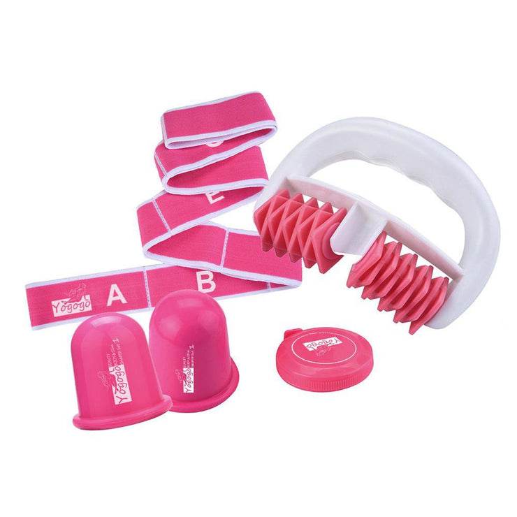 Muscle Roller Massage With Suction Cup And Elastic Band