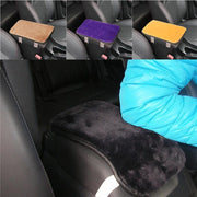 Car Armrest Console Covers Leather Box Pad Cushion