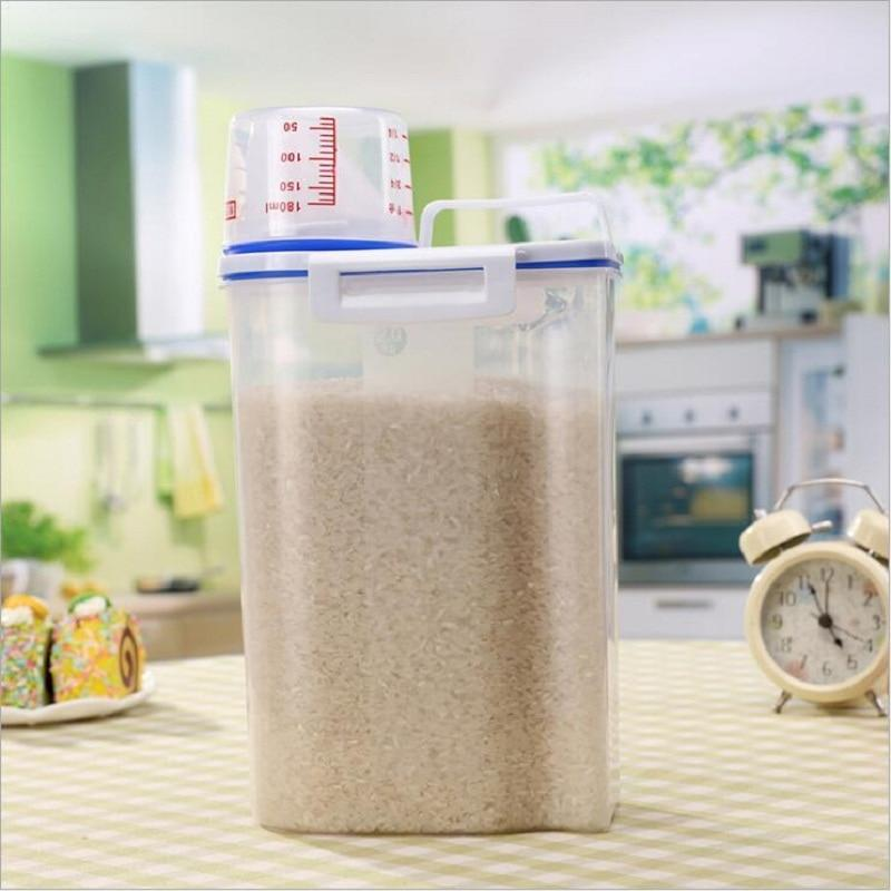 Air Tight Cereal Container (2 Pcs ) - regulustlk