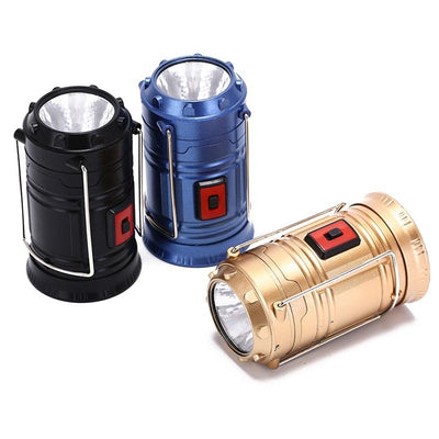 Collapsible LED Camping Lantern (2 Pack)