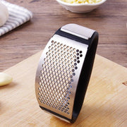 Garlic Press Crusher Manual Rocking Garlic Mincer And Squeezer