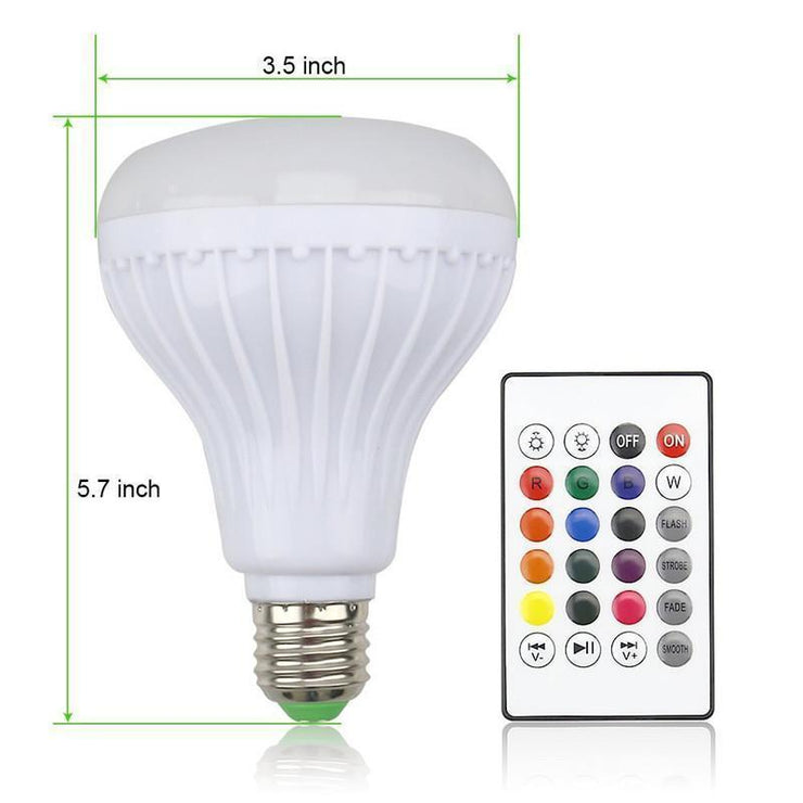 TLK 2018 Music Led Light Bulb with Bluetooth Speaker