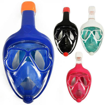 2018 New Full Face Snorkel Anti Fog Diving Mask