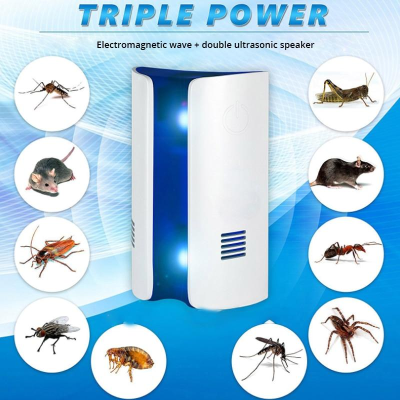 Ultrasonic Pest Repeller Electronic Pest Control With Dual