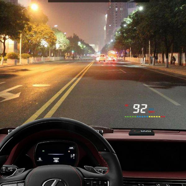 Car Speed Digital Display HUD