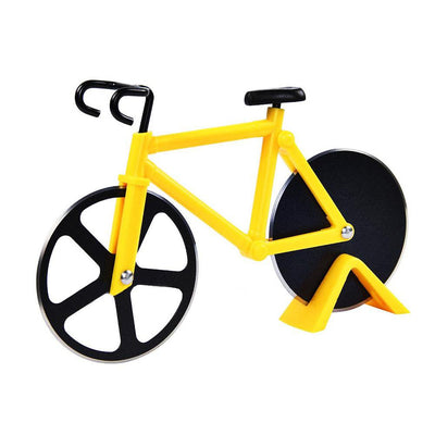 Creative Bicycle Pizza Round Wheel Roller Cutter