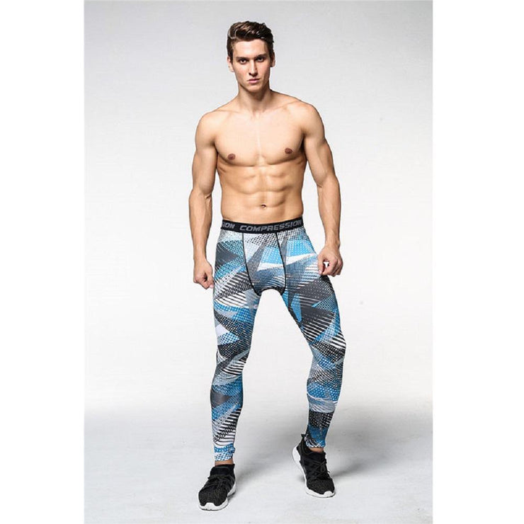 Running Tights for Men (Jogging, Sport Leggings, GYM Fitness, Compression Pants)
