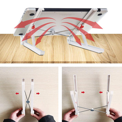 Super Compact Foldable Laptop Holder